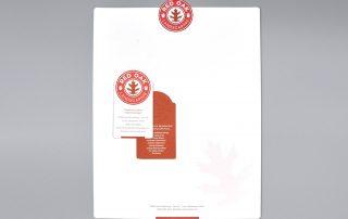Red Oak stationery system