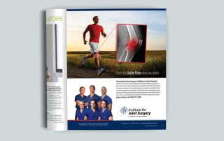 Oklahoma Surgical Hospital joint campaign ad