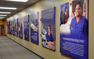 Oklahoma Surgical Hospital Interior Display