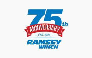 Ramsey 75th Anniversary Logo