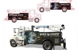 Ramsey Titan Truck Vehicle Graphics