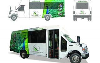 Saint Simeon's Bus Vehicle Graphics