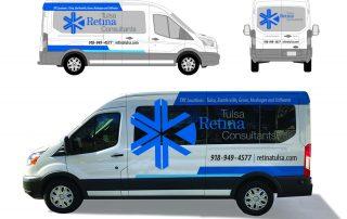 Tulsa Retina Consultants Van Vehicle Graphics