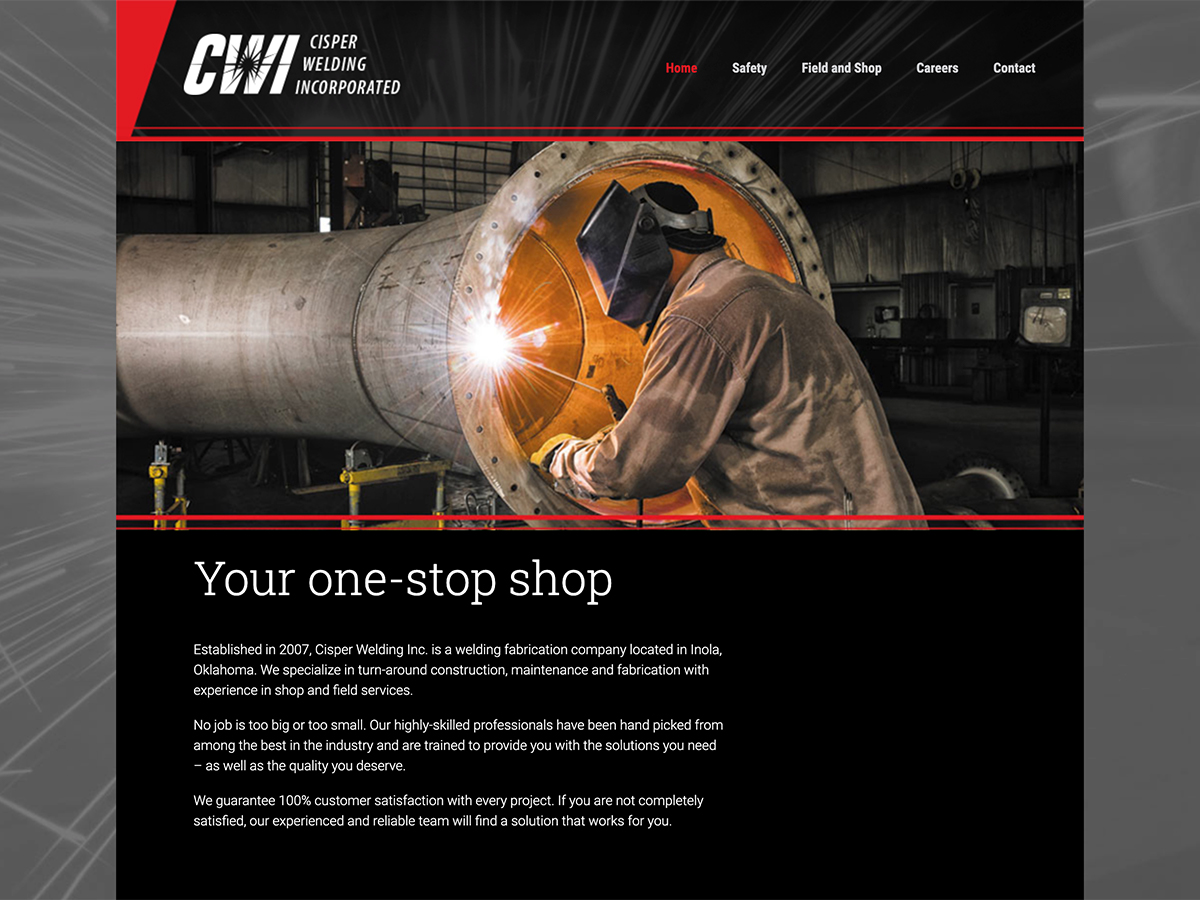 Cisper Welding Website