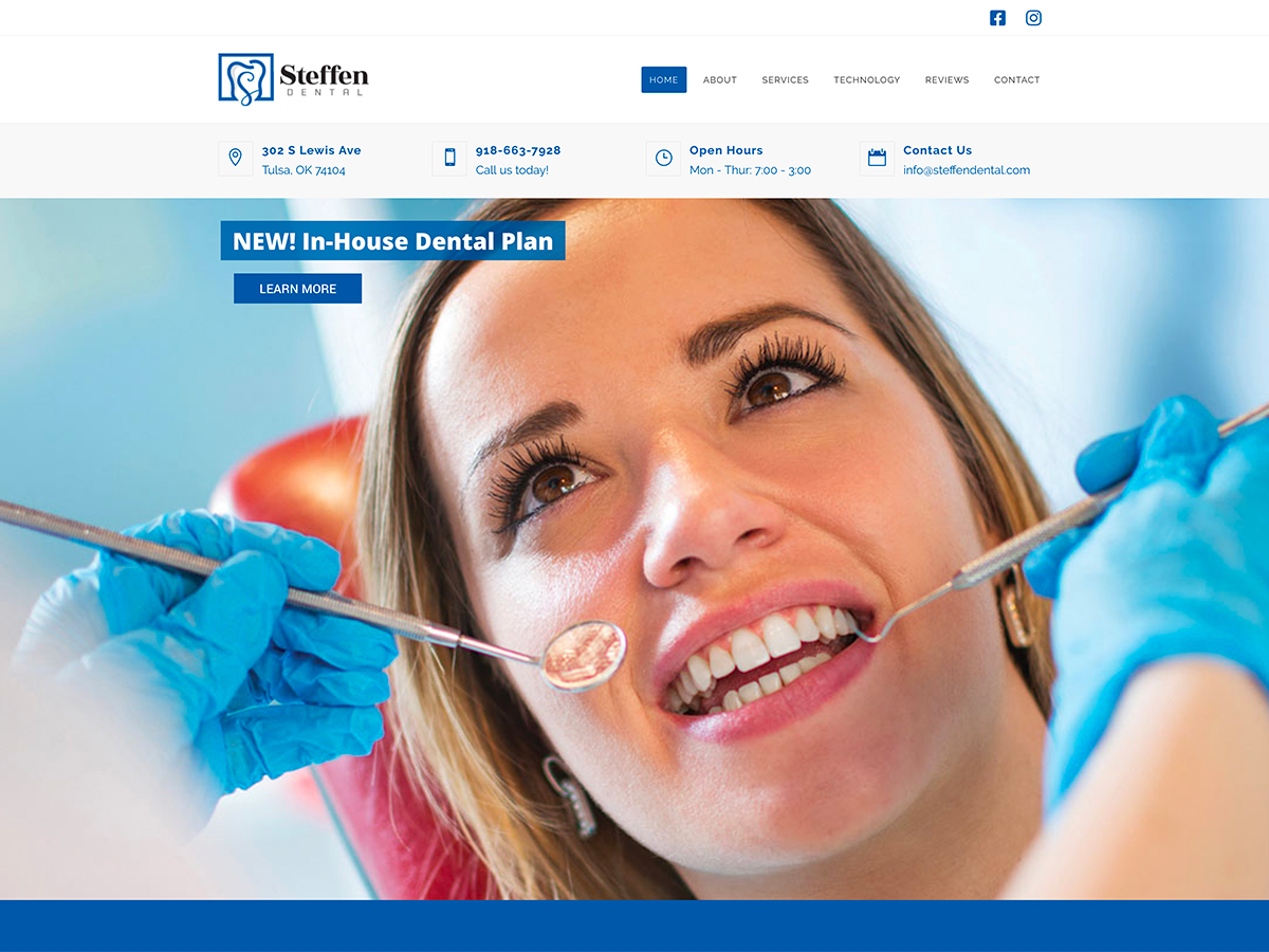 Steffen Dental Website