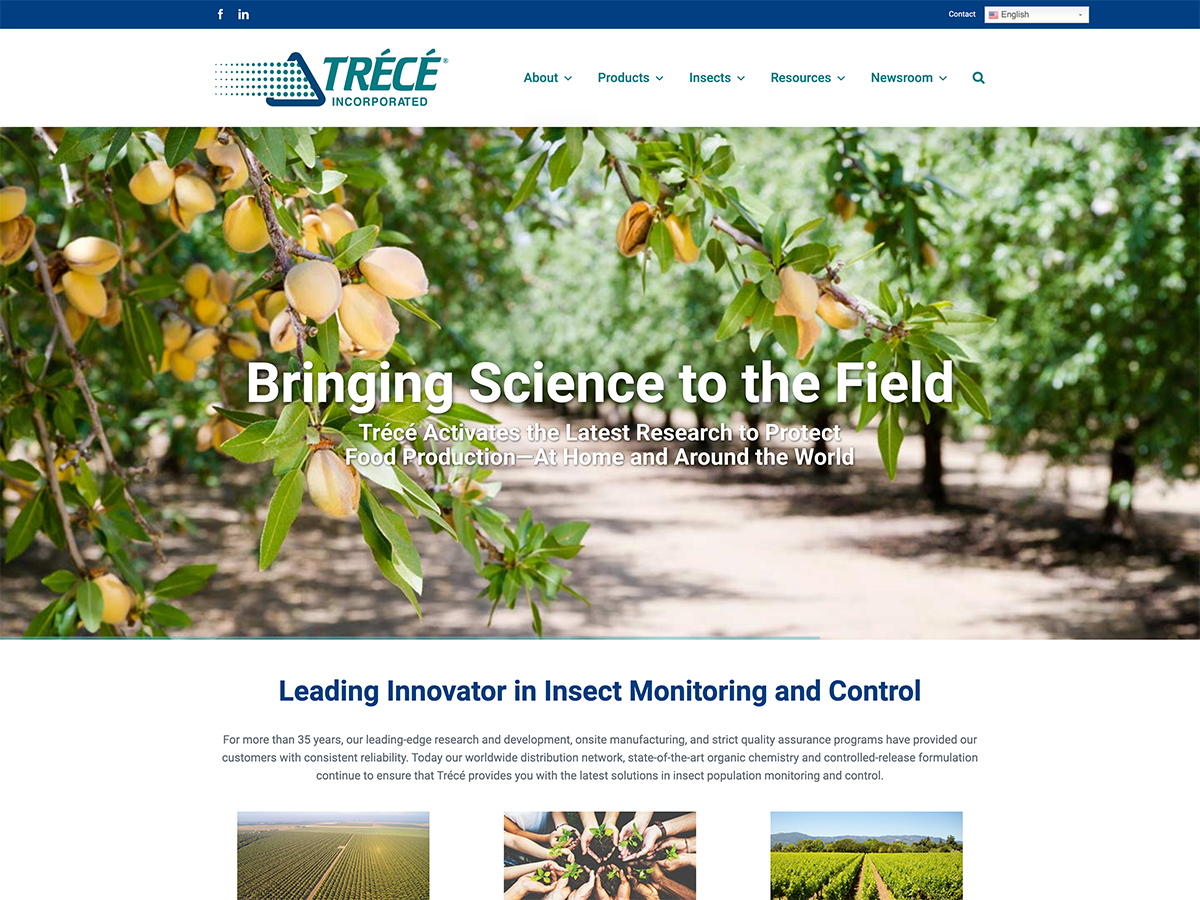 Trécé Website